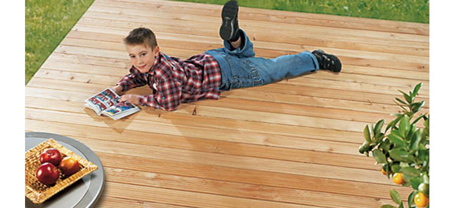 Terrassenbeläge einfach, schnell und perfekt verlegen