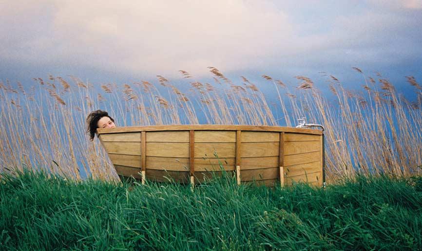 In meiner (Holz-) Wanne bin ich Kapitän!