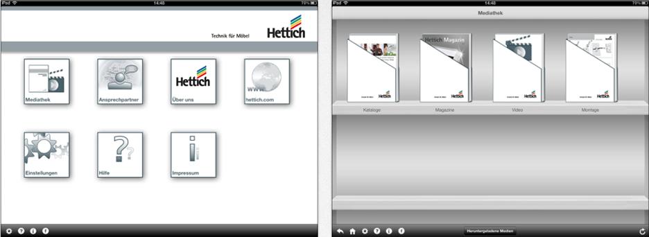 Die HETTICH Sortiments-App – speziell für Schreiner und Tischler