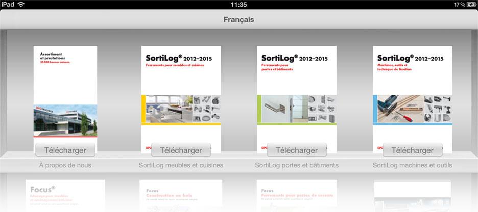 Application Ipad Avec Catalogues De Produits Feuilleter