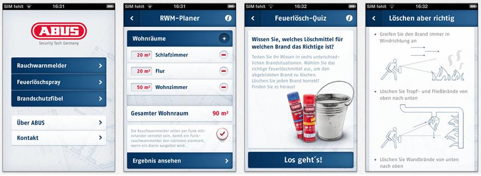 ABUS Brandschutz-App