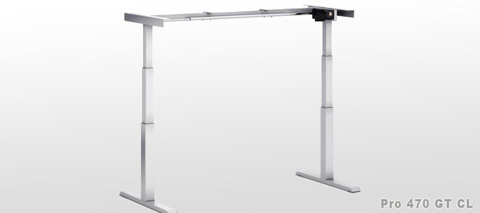 Neues höhenverstellbares Tischgestell  – für mehr Freude an der Arbeit