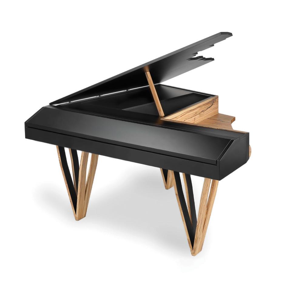 Die Gute Form 2014 – Piano Flügel mit integriertem E-Piano von Nico Ranz