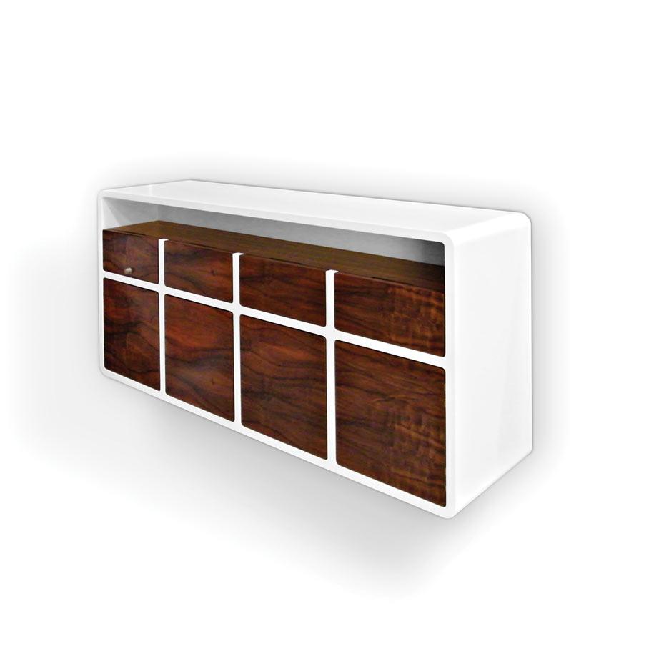 Die Gute Form 2014 – Sideboard in Nussbaum von Johann Wolff