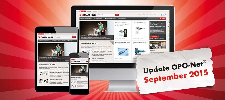 OPO-Net® Update – September 2015