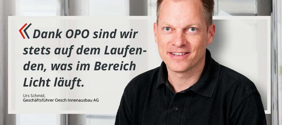 OPO-Kunden im Mittelpunkt – Oesch Innenausbau AG