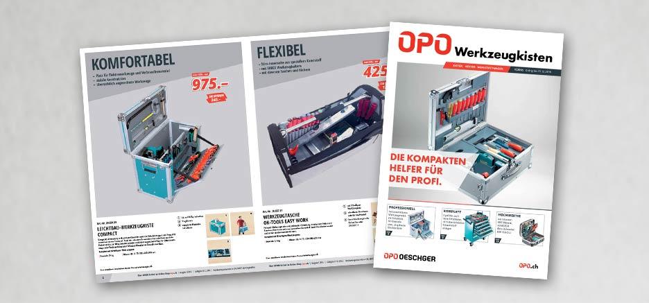 OPO Werkzeugkisten – die kompakten Helfer für den Profi.