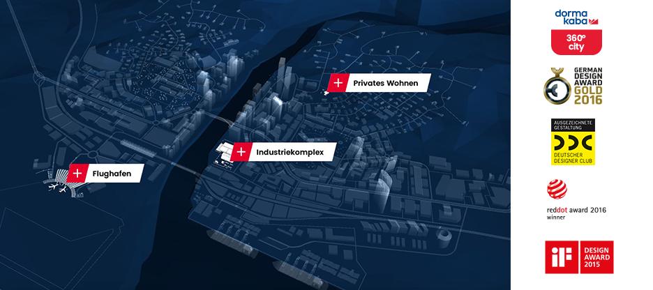 dormakaba 360° City – Das komplette dormakaba Produktportfolio in einer App