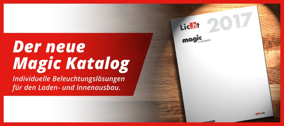 Es werde Licht – im Möbel – Magic by Halemeier