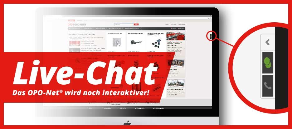 OPO-Net® Neuerungen – Live Chat