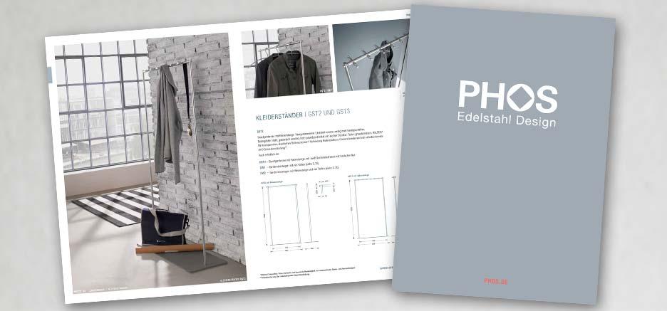 Kleiderständer Edelstahl Design phos edelstahl design als blätterkatalog opo
