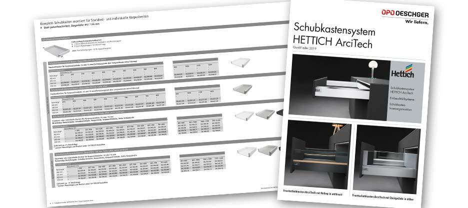 HETTICH Quickfinder ArciTech