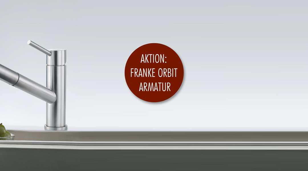 FRANKE Orbit Aktion: zeitlose Armatur im eleganten Design