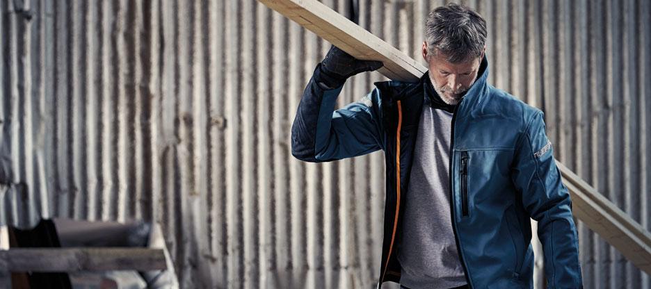 Jetzt in Aktion: Arbeitsbekleidung für den Winter