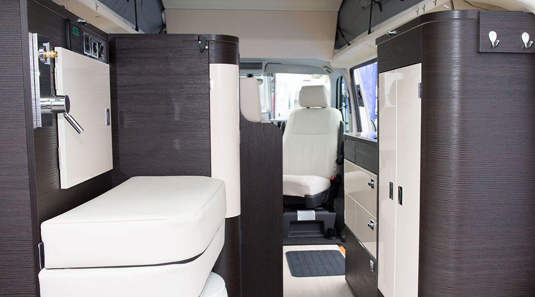 Ideen für den Innenausbau von Wohnwagen und Campern