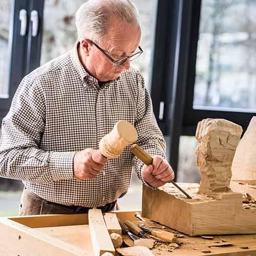 Peter Oeschger in seiner Werkstatt CEO-Blog