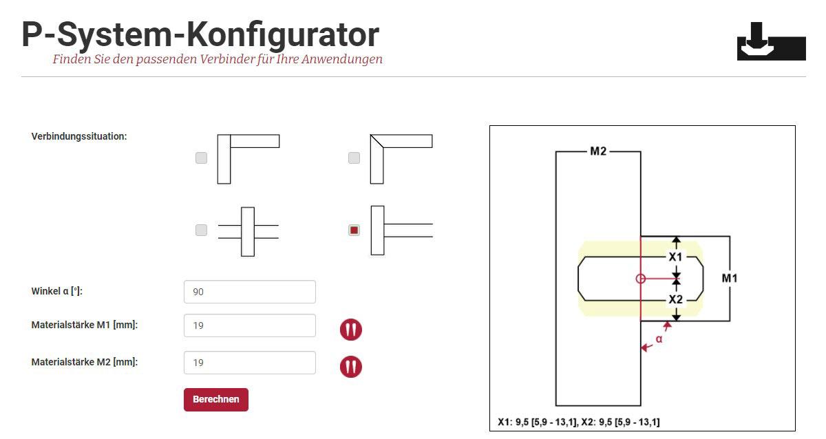 P-System Konfigurator