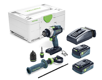 FESTOOL QUADRIVE TDC 18/4 I-Plus