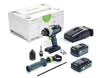 FESTOOL QUADRIVE TDC 18/4 I-Plus-SCA