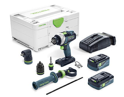 FESTOOL QUADRIVE TDC 18/4 I-Set-SCA