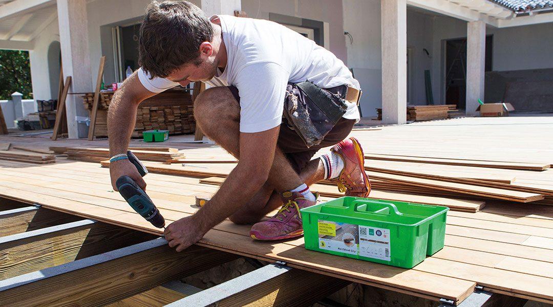 Konstruktionsempfehlungen für Terrassen