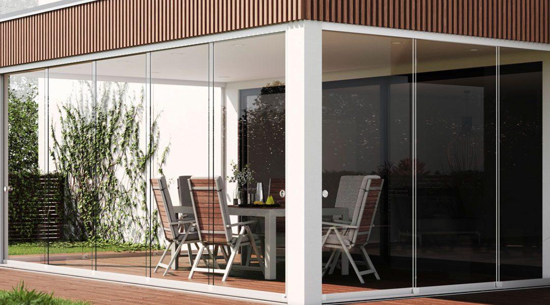 Mit Glasschiebetüren die Terrassensaison verlängern