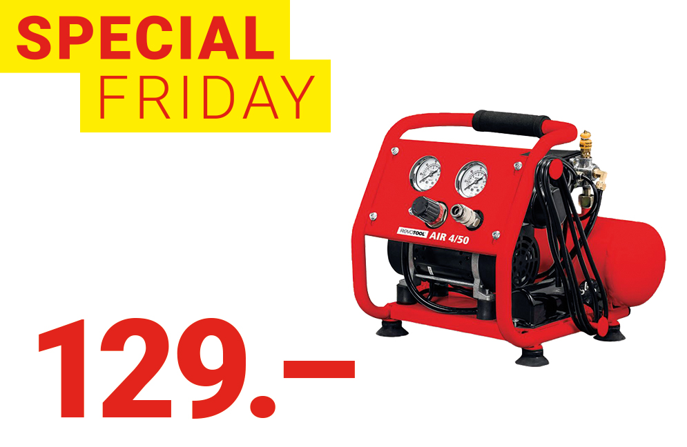 Special-Friday Compresseur REVOTOOL AIR 4/50