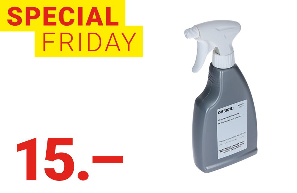 Special Friday: Désinfectant pour les mains MOTOREX Desicid