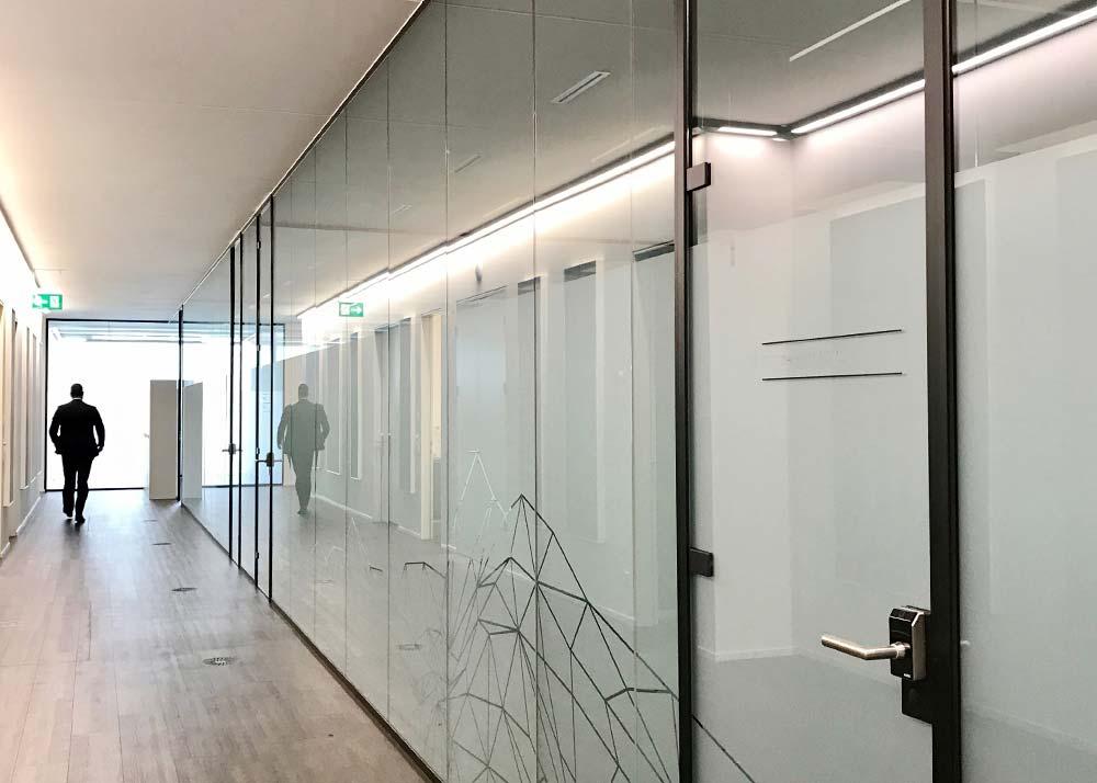 LÄNGLE Büroverglasungssysteme
