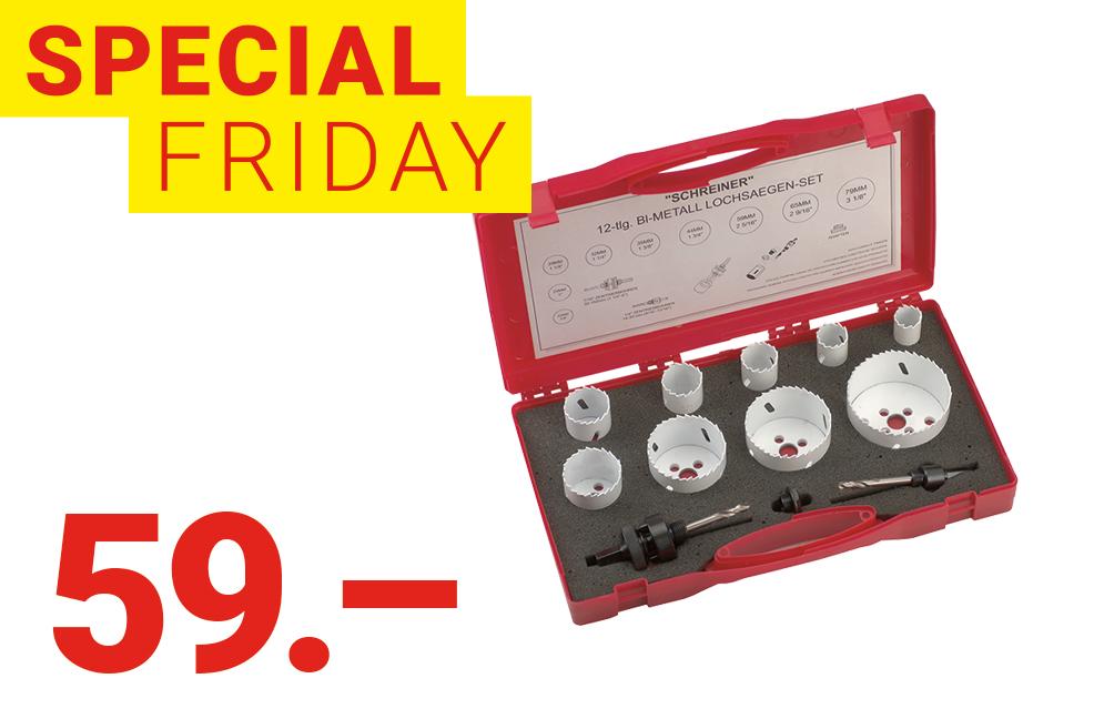 Special Friday: Jeu de mèches à métaux HSS-G OK-LINE