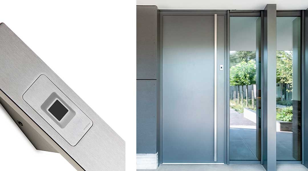 ekey dLine – Smarter Zutritt mit Fingerprint – geniessen Sie Smart Home-Komfort am Hauseingang
